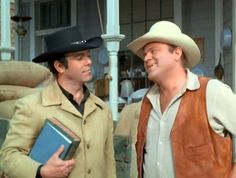 Adam and Hoss (Bonanza) I wonder what episode this is from.