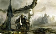 THE COMPANION: Umm 'Umarah - Nusaybah bint Ka'ab King Of Jerusalem, Renaissance Music, Medieval Music, Scrapbook Blog, Islamic Paintings, Knight Art, Knights Templar, Middle Ages, Middle East