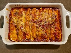 It's not an uncommon thing for me to have leftover chicken in my fridge after a lazy rotisserie chicken dinner or roasting chicken at h. Chipotle Chili, Roll Ups Tortilla, Monterey Jack Cheese, Leftover Turkey, Glass Baking Dish, Plum Tomatoes, Enchilada Sauce, Chicken Enchiladas, Rotisserie Chicken