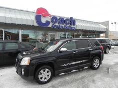 Stylish and sporty, this 2010 GMC Terrain SLE-1 is a powerful vehicle to get you around.  Comes with privacy glass and cloth seats.