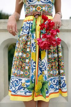 Atlantic-Pacific: beach walk dolce and gabbana dress Atlantic Pacific, Capri, Fashion Prints, Fashion Design, Thing 1, Dress Me Up, Spring Summer Fashion, Passion For Fashion, Dress To Impress