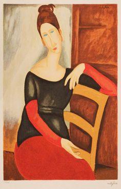 Amadeo Modigliani  / Portrait of Jean Aboutren