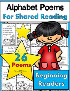 I created this set of alphabet poems to use during my shared reading time in my…