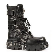 Zapatos New mujer Rock para rojos U0xZUH