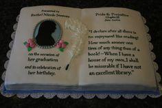 Pride and prejudice cake i.love it