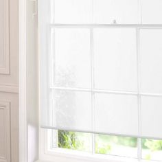 Sheer Roller Blind | Dunelm 162 cm drop by 122 cm wide £14.99 White
