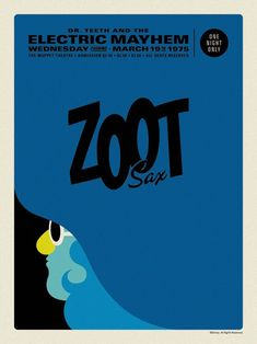 Electric Mayhem Posters - Zoot