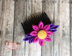 Boutique Sprinkles BLOG: How to make a Tsumami (Hana) Kanzashi つまみ細工 剣つまみ