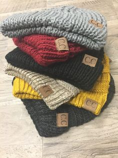 What's your favorite color? We have so many C.C beanies here for you to choose from! We have these colors and more exclusive colors too! #shoplbvb #beanies