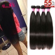 Peruvian Virgin Hair Straight 4 Bundles 8A Peruvian Straight Virgin Hair Weave 100% Human Hair Extensions Straight Peruvian Hair -  http://mixre.com/peruvian-virgin-hair-straight-4-bundles-8a-peruvian-straight-virgin-hair-weave-100-human-hair-extensions-straight-peruvian-hair/  #HairWeaving