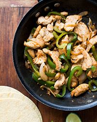 Ready in just 30 minutes, this quick and easy recipe for chicken fajitas is perfect for a fun, do-it-yourself weeknight meal.