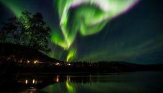 Det magiske nordlyset - Nordlys over Helgeland (Photo: Lars Erik Martinsen)