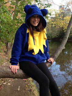 Grateful Dead Dancing Bear Hoodie Costume by CosmicPsychedelia, $50.00