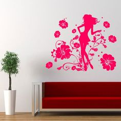 Wall Decal Decor Decals Art Girl Body Beauty Grace Temptation Sexuality Salon Flower Curl (M552) DecorWallDecals http://www.amazon.com/dp/B00G0MNVX0/ref=cm_sw_r_pi_dp_bzq1ub02K83WE