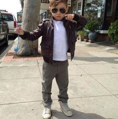 世界の「ちょいワル坊や」はもっとスゴイんやで! 5歳のファッショニスタ、アロンソ・マテオくんに胸キュン〜ッ!