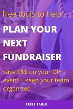 Today I want to share my top free tools for planning fundraisers. As a professional event planner, I actually use these for every single one of my events. These free tools… Fundraising Activities, Fundraising Events, Fundraising Companies, Fundraiser Event, Becoming An Event Planner, Church Fundraisers, Volunteer Gifts, Volunteer Appreciation, Event Planning Business