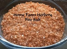 Welcome to Home Farm Herbery's Wide World of Salts. Here you will find our…