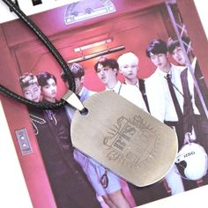 BTS Traditional Logo Necklace