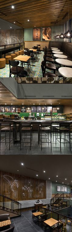 In 2015, Starbucks opened its doors for the first time in Panama. With hand-painted tiles, furniture from Colombia, and wood slatted light fixtures from Brazil, it is a celebration of local heritage and coffee history.