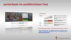 http://www.ihr-singleboersen-vergleich.de/seniorbook-test/ Seniorbook - das Facebook für alle Best-Ager!  Eine freundliche und komplett kostenlose Community für neue Freundschaften und auch mehr...