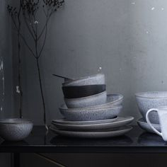 Tableware from the Danish brand H. Skjalm P. available at Raw Materials