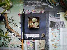 SOLD - 3 Tiny Hand-Painted Love Heart British Pebbles: Original Miniature Art on stone | eBay
