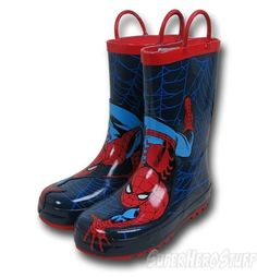 Spiderman Raincoats Boots and Umbrellas - Christmas Gifts for Everyone