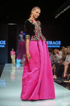 Un parfum d'Algérie à la Fashion Week de Miami avec Fadila Kihel