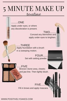 A Five Minute Make Up Routine For the Modern Mom
