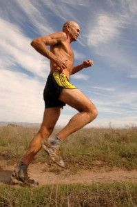 Run Free or as one commenter on this article wrote:  Caballo Blanco  On the Gila desert trail  Running forever