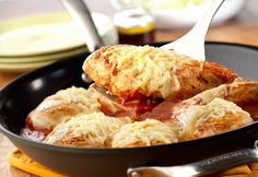 Yes, you can make delicious, home-style Chicken Parmesan with just one skillet and in just 30 minutes! Try it...it's a fabulous recipe for busy people who enjoy good food.