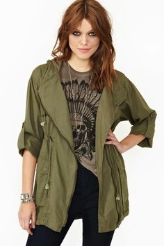In The Army Anorak     $68.00
