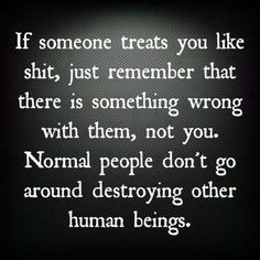 Toxic People  ..just remember its not you...