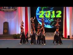 Twist and Shout Coed 6 Final Run Worlds 2012: This is possibly my favorite cheer routine ever!