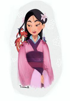 Mulan by Sweet-Hope.deviantart.com on @DeviantArt