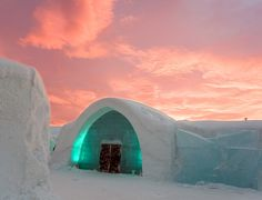 ICEHOTEL Sweden the first hotel made of snow and ice in the world. - Art People Gallery