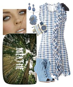 """""""Breathe"""" by kaylyn-80864 ❤ liked on Polyvore featuring MSGM, Gianvito Rossi, Mixit and Lord & Taylor"""