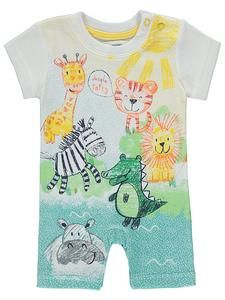 Baby Boy All In Ones Online: Jungle Romper – Novelty-Characters