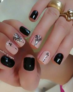 Whatever occasion or event you may be going to, make sure that your nails are on fleek! We have collected 35 nail designs for short nails just for you! New Nail Designs, Short Nail Designs, Beautiful Nail Designs, Easy Designs, Blue Nails, My Nails, Hair And Nails, Dream Nails, Nagel Gel