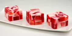Valentine's Day Broken Glass Jello: Recipe