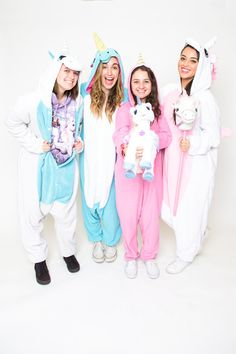 A gaggle of unicorns (or, ummmm, onesie-corns).
