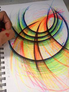 Through the Portal Original Drawing 9x12 by michellecuriel, $39.99
