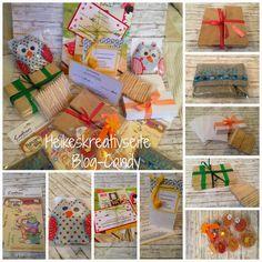 Heikes Kreativseite: Ein Grund zum Feiern.. Candy Cards, Gift Wrapping, Blog, Gifts, Creative, Gift Wrapping Paper, Presents, Wrapping Gifts, Blogging