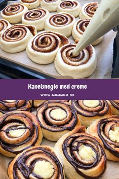Cookie Desserts, Dessert Recipes, Delicious Desserts, Yummy Food, Danish Food, No Bake Snacks, Tasty Dishes, No Bake Cake, Cupcake Cakes