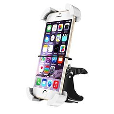 Bike Mount, CHOETECH Universal Bike Phone Holder Handlebar & Motorcycle Mount Holder (360 Degree Rotation) fits iPhones, Samsung Galaxy, LG, BlackBerry, HTC Smartphones, GPS Devices and More
