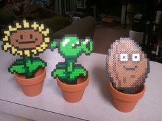 plants vs zombies perler bead set