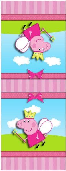 Rótulo Mini Talento Peppa Pig Princesa:
