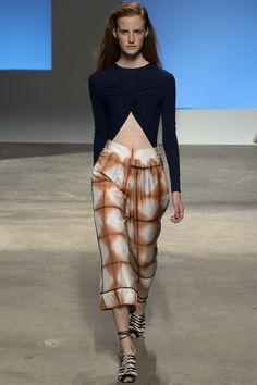 Thakoon Spring 2016 Ready-to-Wear Fashion Show - Regitze Christensen