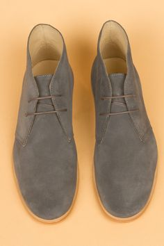 M1 Classic Boot - Grey Suede