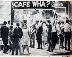Bob Dylan's Cafe Wha?